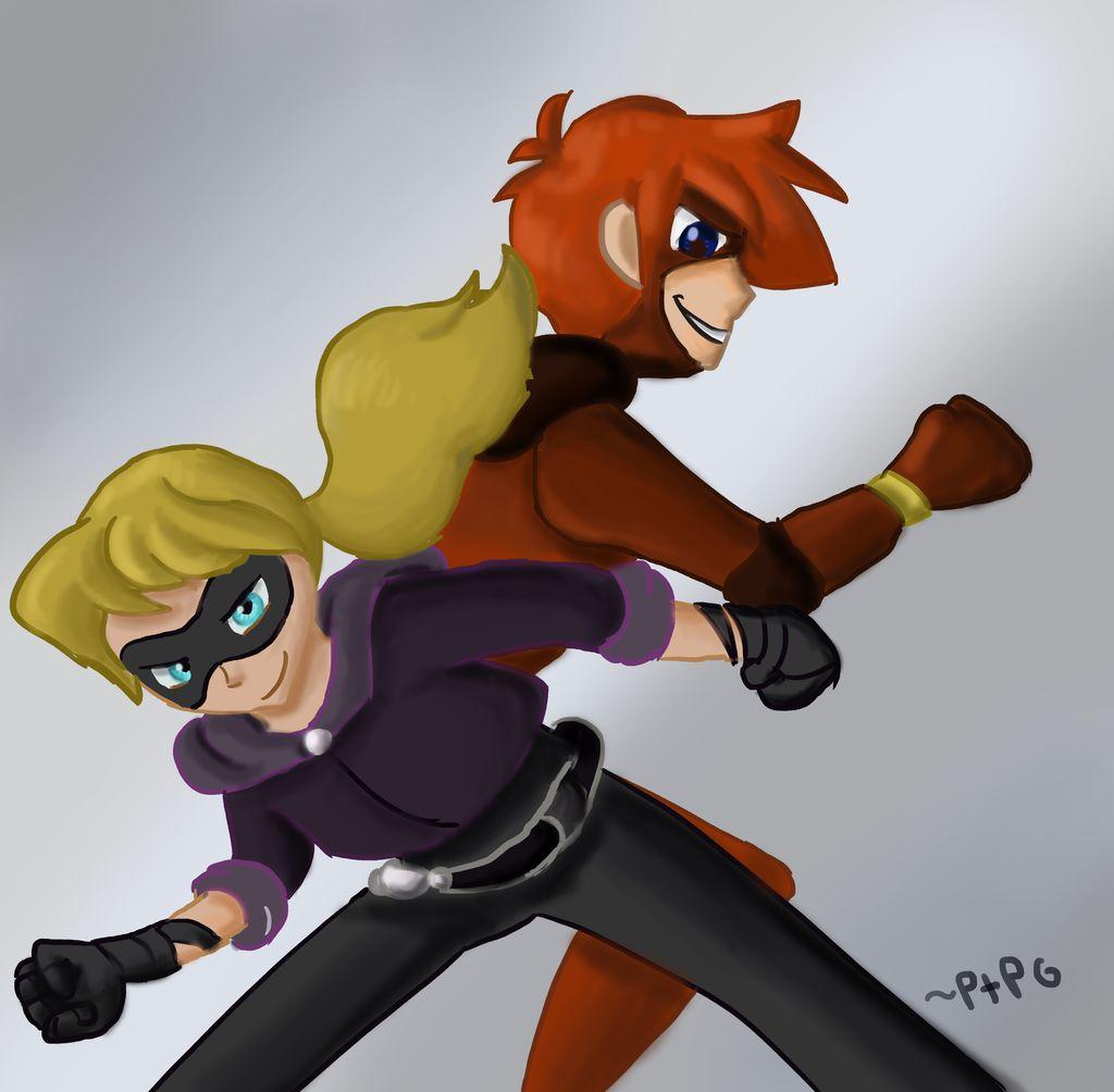 Super kids by PerryThePlatypusGirl